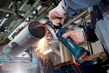 Bosch Professional GWS 18 V-Li Akku-Winkelschleifer Test